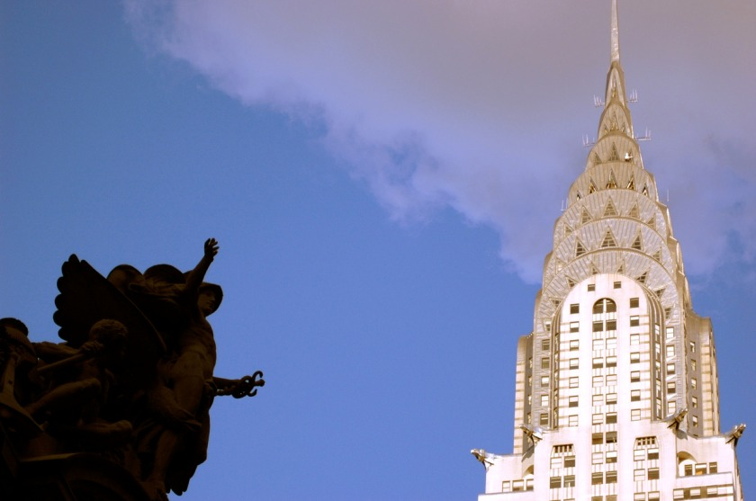 The Fallen Angel NYC Chrysler Building